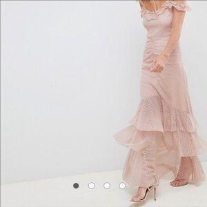 ASOS fishtail dress